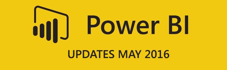 POWER BI-Updates