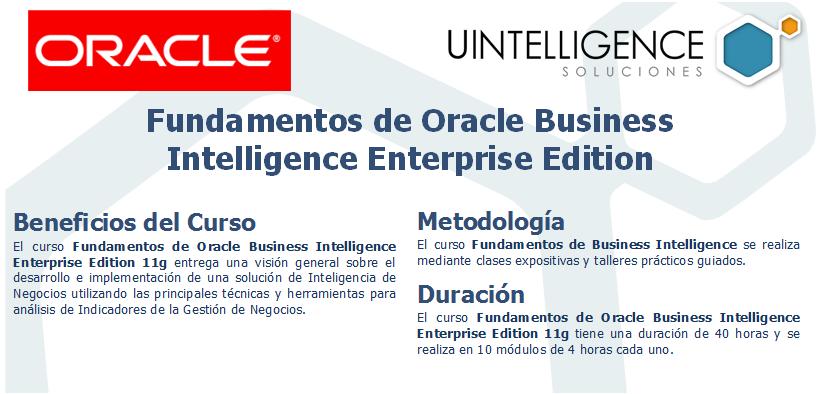 Programa - Fundamentos de Oracle Business Intelligence 11g